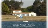 Holiday letting Villa La F'nouil - Ile d'Yeu