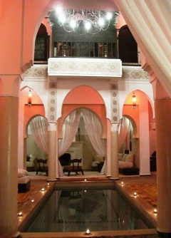 Holiday letting Riad Andalouse