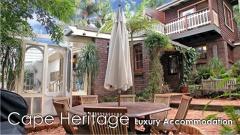 Holiday letting Cape Heritage Luxury Accommodation