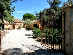 Holiday letting Mas des oliviers
